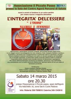 INTEGRITA DELLESSERE 14 marzo